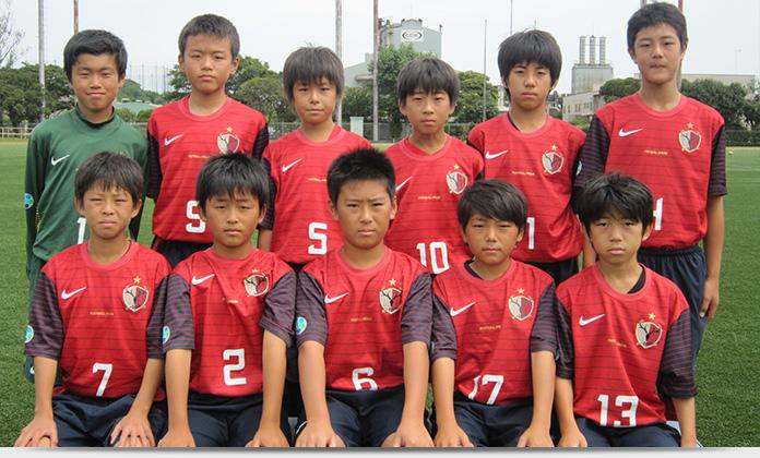 鹿島アントラーズ ジュニア 出場チーム U-12 ジュニアサッカー ワールドチャレンジ2013