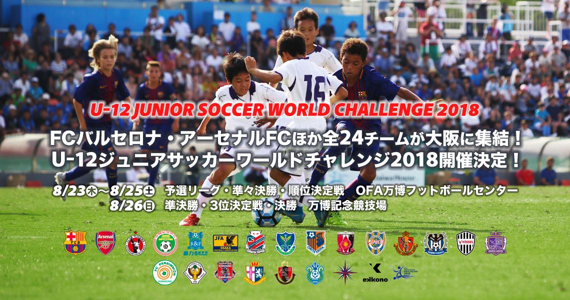 u 12ジュニアサッカーワールドチャレンジ2018